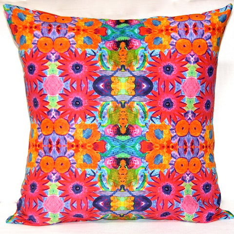 Crazy Daisy Reversible Pillow