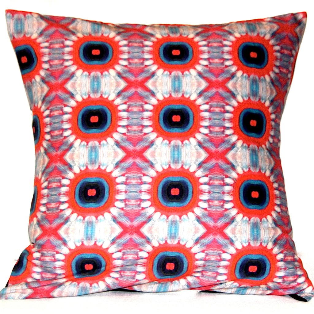 Fire Blossom Reversible Pillow