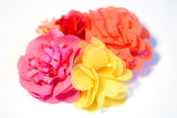 Bouquet Clip | Pink/Yellow/Coral