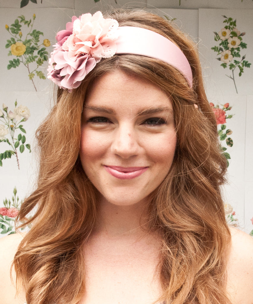 Flower Headband | Dusty Pink