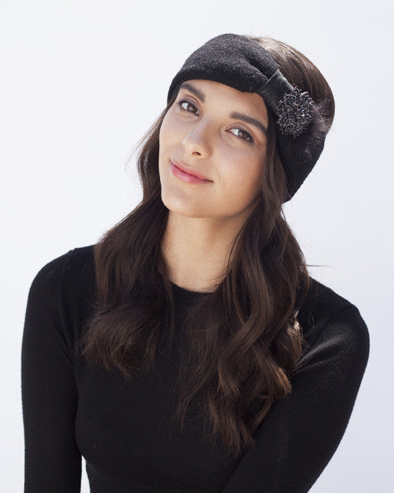 Black Winter Headband