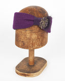 Plum Winter Headband