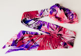Headwrap | Red/Purple/Pink