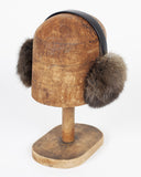 Brown Fur Earmuffs