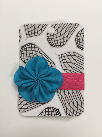 Flower Hair Elastic {more colours}