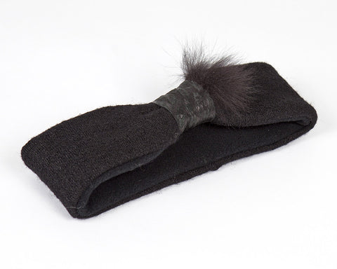 Kids and Baby Black Winter Headband