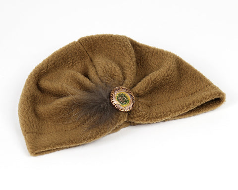 Olive Green Turban for Kids and Baby