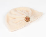 Blush Pink Fleece Turban for Kids and Baby