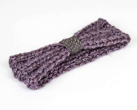 Kids/Baby Lavender Grey Winter Headband