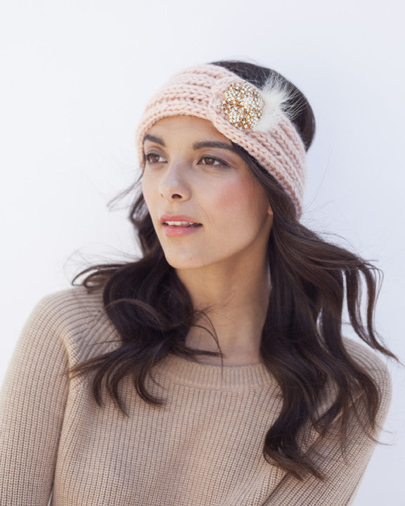 Blush Knit Headband