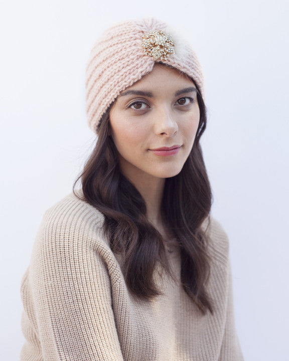 Blush Knit Hat