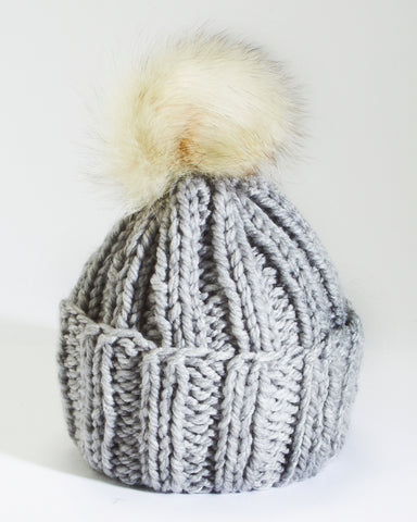 Little Ones | Light Grey Toque