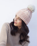 Blush Knit Toque