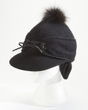Black Railroad Cap
