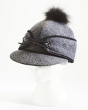 Grey Warm Winter Cap