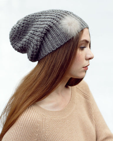 Slouch Knit Hat [more colours]