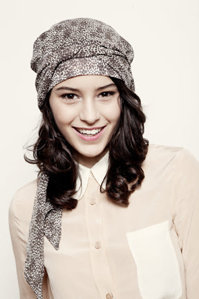 Headwrap | Khaki Dot