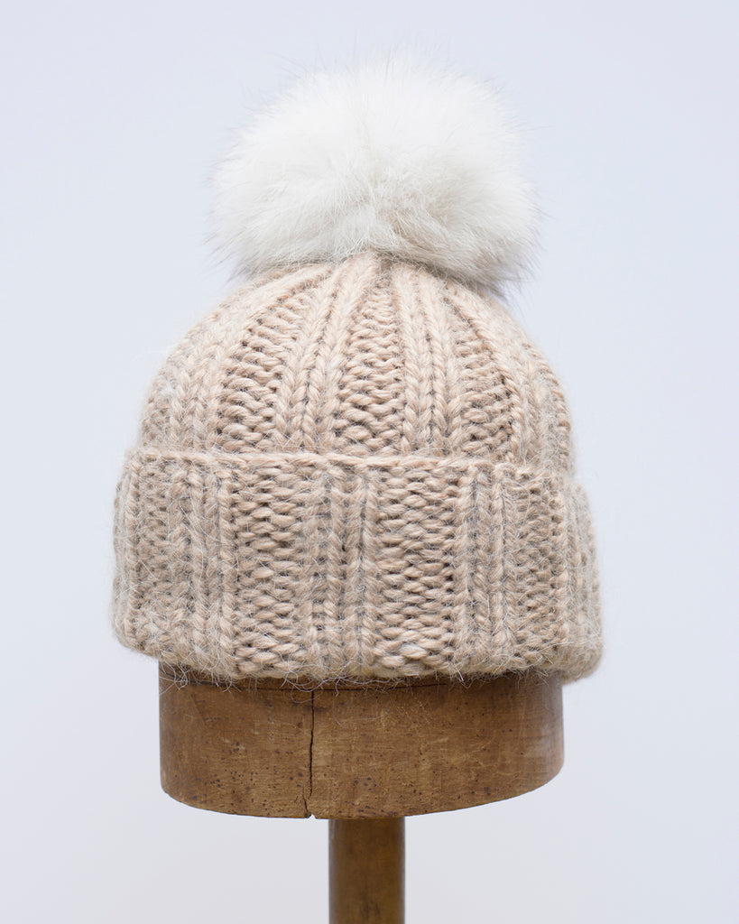 Wheat Knit Toque