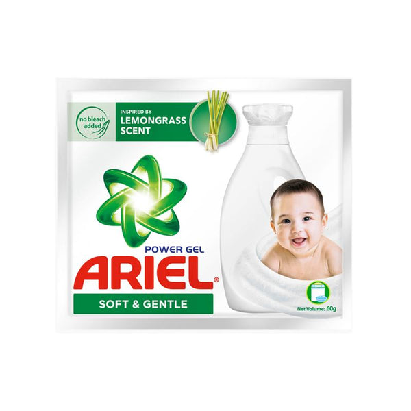 Ariel Liquid Soft And Gentle 60G