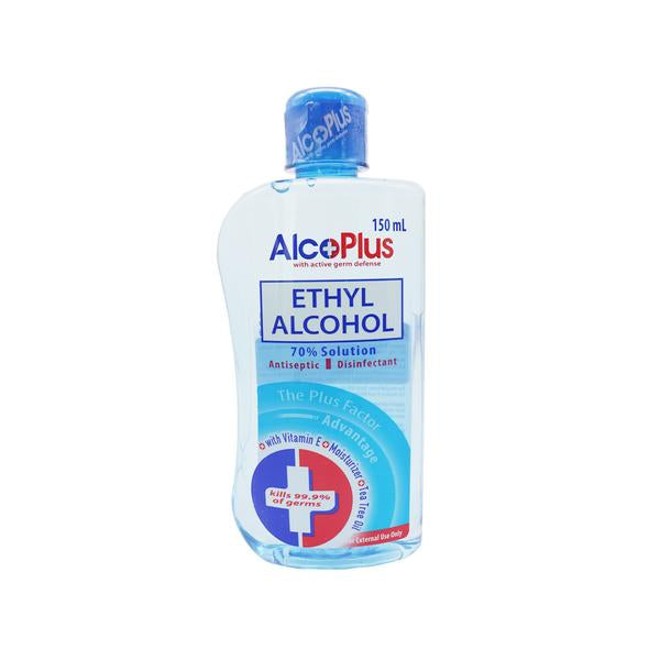 Alcoplus Ethyl 70% Alcohol 150Ml