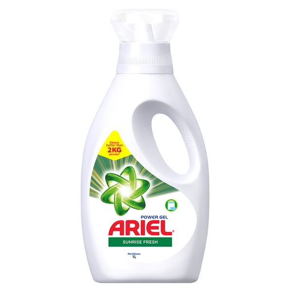 ARIEL POWER GEL SUNRISE FRESH BOTTLE 1L