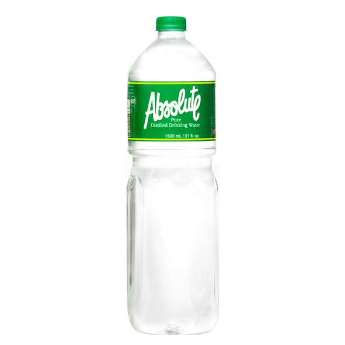 Absolute Distilled Water 1.5L