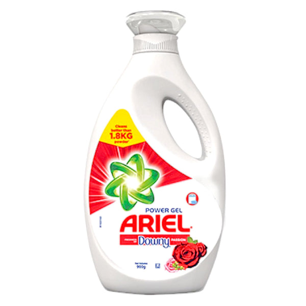 Ariel Power Gel Downy Passion Bot 900Ml