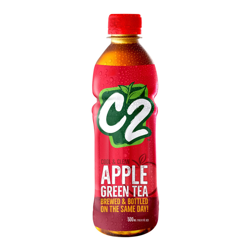 C2 Green Tea Apple 500Ml