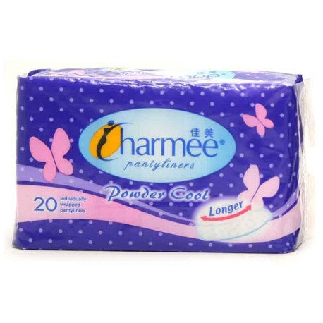 Charmee Pantyliner Powder Cool 20S