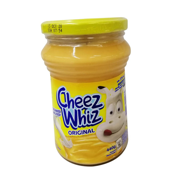Cheez Whiz Orig Jar 440G