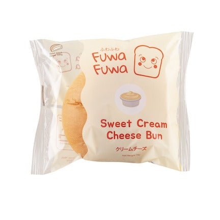Fuwa-Fuwa Cream Cheese Bun 72G