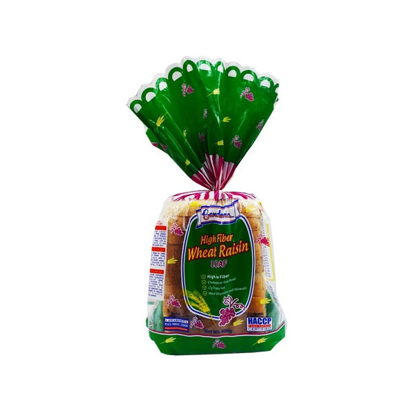 Gardenia Highfiber Wheatraisin Loaf 400G