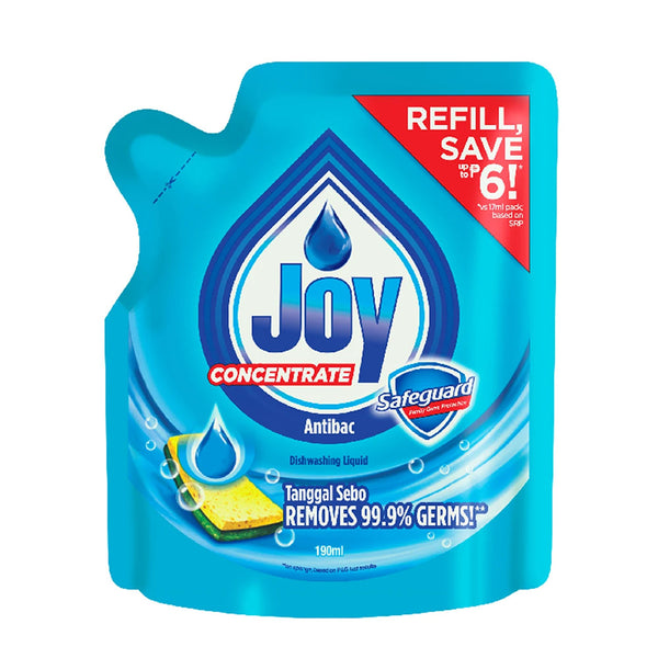Joy Dish Liquid Antibac Safeguard 200Ml
