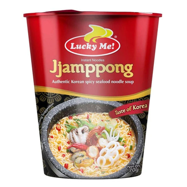 Lucky Me Go Cup Jjampong 70G