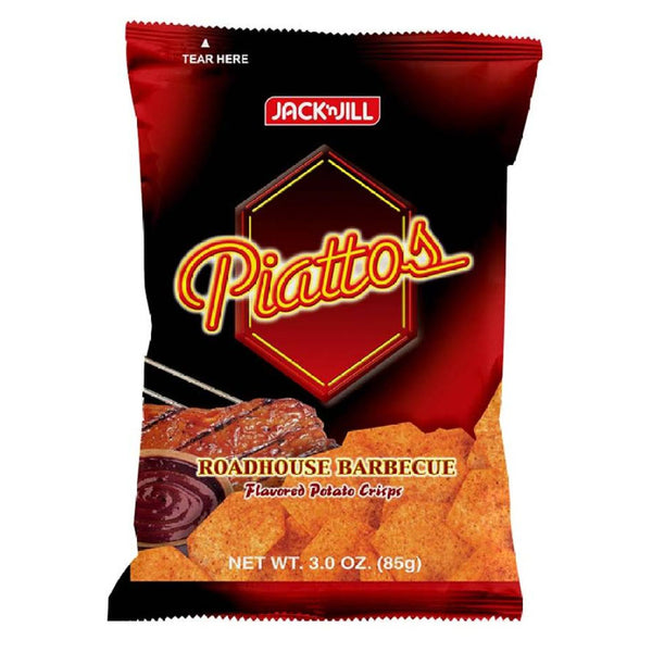 Piattos Roadhouse Barbeque 85G