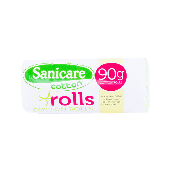 Sanicare Absorbent Cotton Rolls 90G