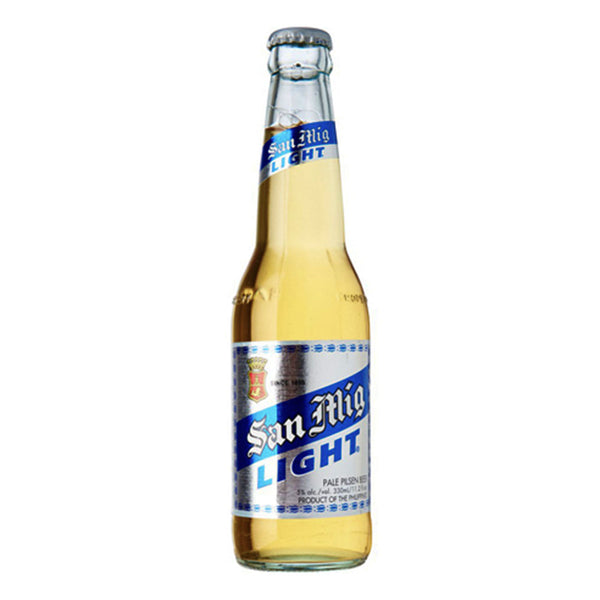 San Miguel Beer Light Bottle 330ml