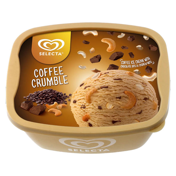 Selecta Ice Cream Coffee Crumble 1.4L