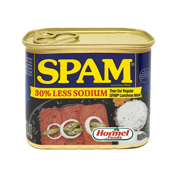Spam Luncheon Meat Less Soduim 12oz