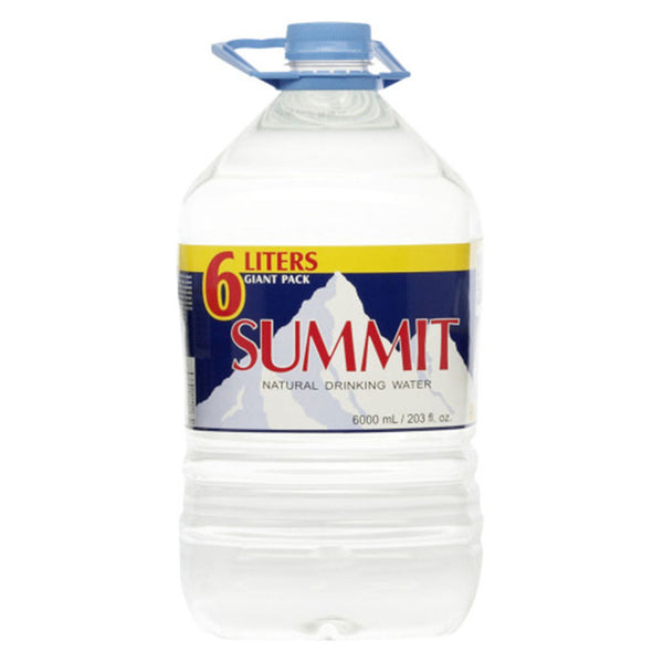 Summit Natural Water 6L