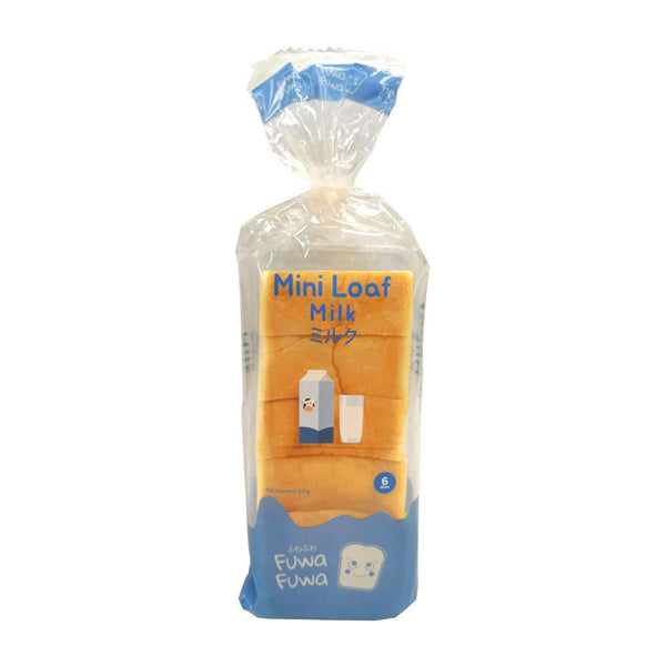 Fuwa-Fuwa Mini Loaf Milk 225G