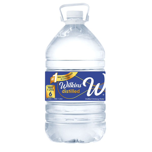 Wilkins Distilled Water 5L+1L