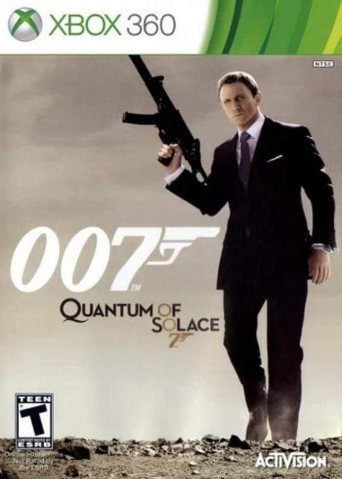 007 Quantum of Solace Microsoft Xbox 360 Game - Gandorion Games