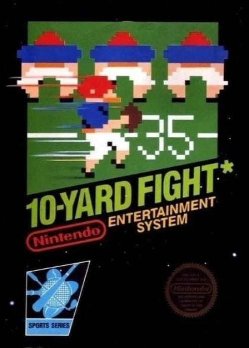 10-Yard Fight Nintendo NES Game - Gandorion Games
