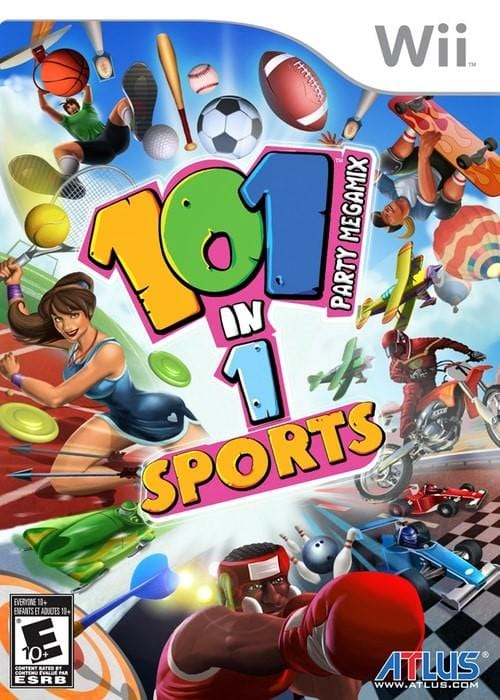 101-in-1 Sports Party Megamix Nintendo Wii Game - Gandorion Games