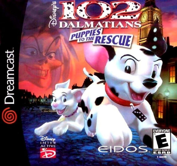 102 Dalmatians Puppies to the Rescue Sega Dreamcast Game - Gandorion Games