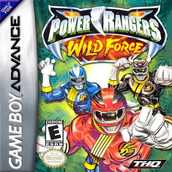 Power Rangers Wild Force Nintendo Game Boy Advance - Gandorion Games