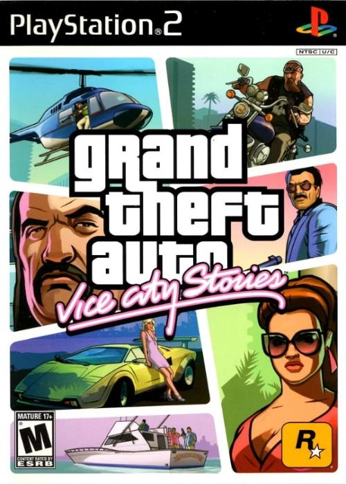 Grand Theft Auto Vice City Stories Sony PlayStation 2 Game - Gandorion Games