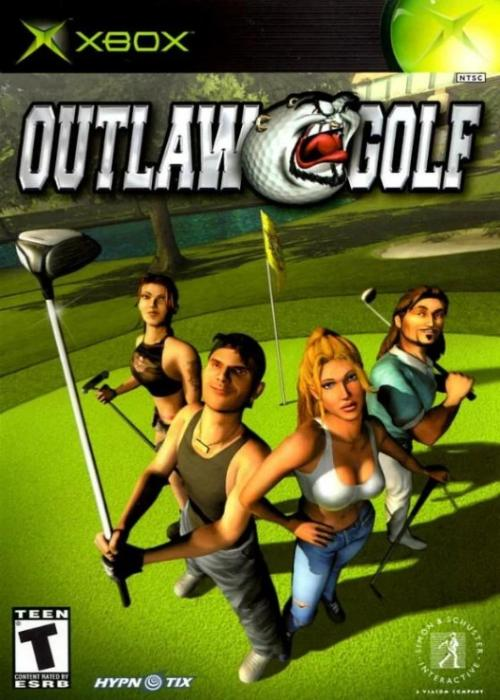 Outlaw Golf Microsoft Xbox Game