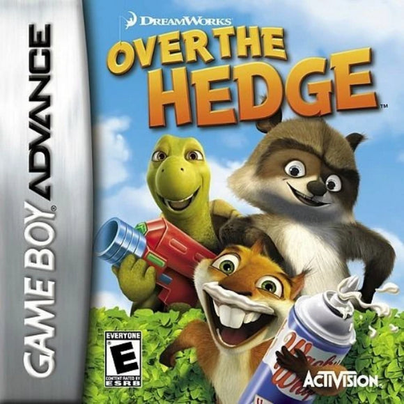 Over the Hedge Nintendo Game Boy Advance GBA - Gandorion Games